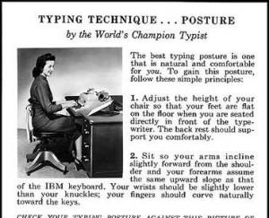 typing-technique-posture